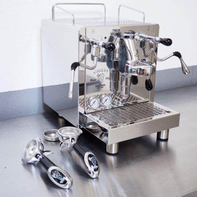 Foto Halfautomaat espressomachine
